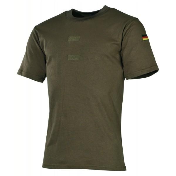 BW Tropenhemd mit Klett und Nationalitätsabzeichen
