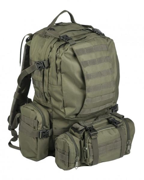 Rucksack Defense Pack Assembly oliv vorn