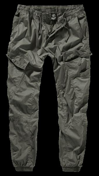 Brandit Ray Vintage Trousers oliv vorn armyoutlet.de