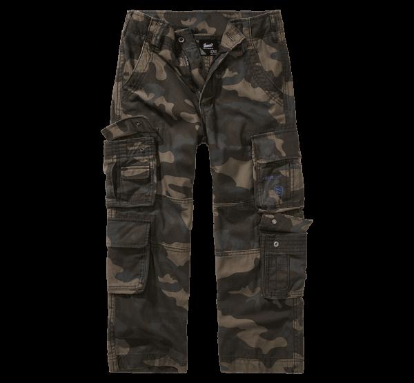 Brandit Kids Pure Trouser - darkcamo - vorn - armyoutlet