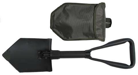 US Klappspaten 3-teilig extra stabil mit Tasche