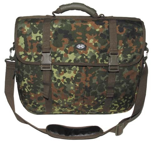 BW Aktentasche Laptop flecktarn