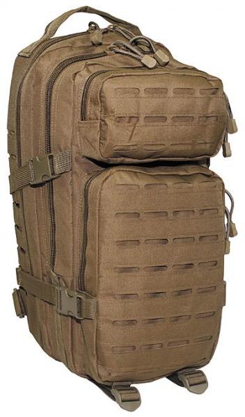 US Rucksack Assault I Laser coyote vorn - armyoutlet.de