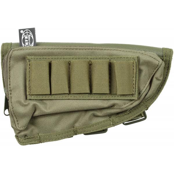 Gewehrschaft-Tasche - oliv - oben - armyoutlet