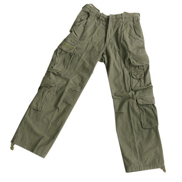 Devil Fighter Vintage Pant oliv