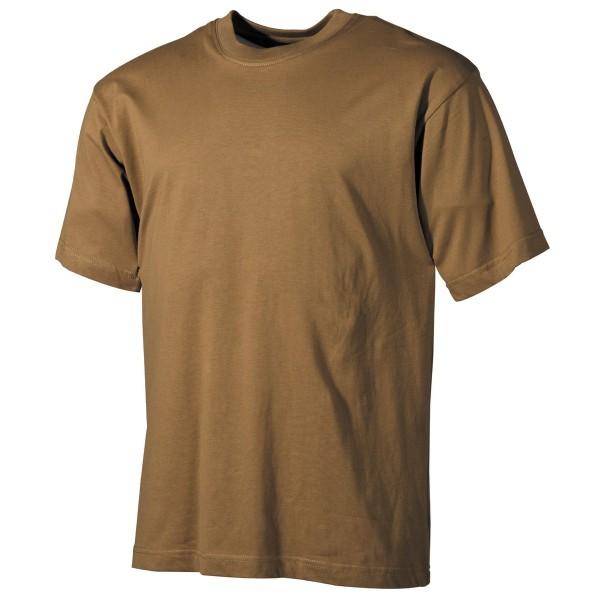 US Army-T-Shirt kurzarm unifarben