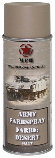 Army Farbspray desert matt 400ml