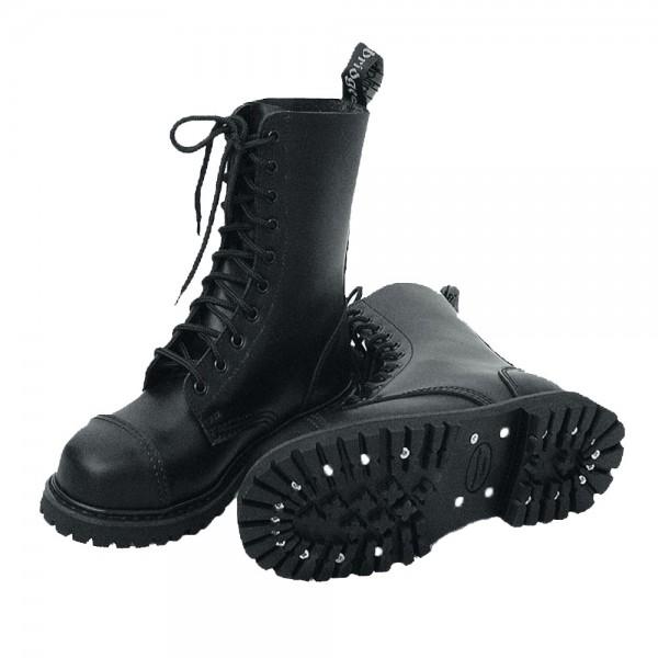 Knightsbridge 10 Loch BW Ranger Boots schwarz - armyoutlet.de