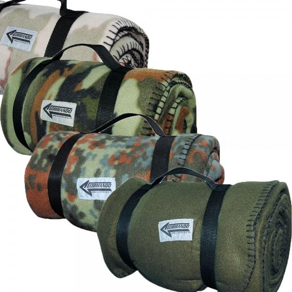Fleecedecke Army-Style alle Farben