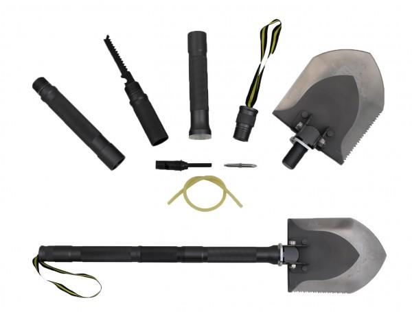DOGGE III Camping und Outdoor Outdoor-Schaufel mit Tasche