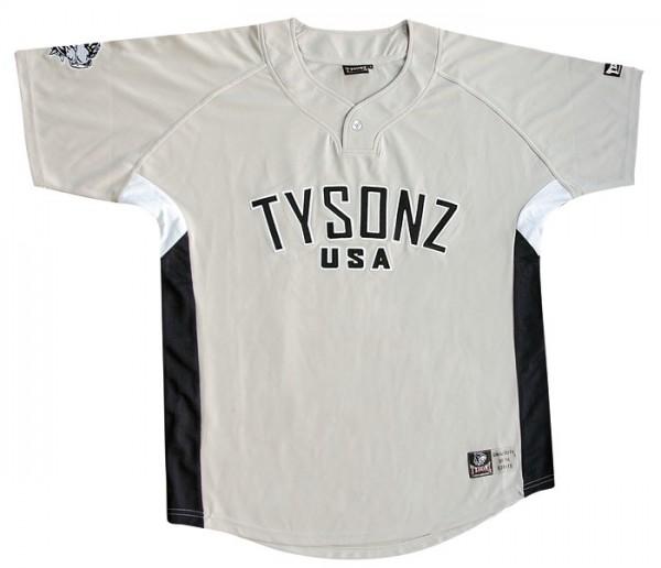 Tysonz Baseball Shirt Beige