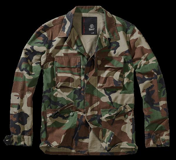 Brandit BDU Ripstop Jacket woodland armyoutlet.de