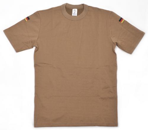 Original Bundeswehr Unterhemd (Tropen) kurzarm khaki ohne Klettstreifen