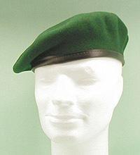 Original Bundeswehr Barett grün