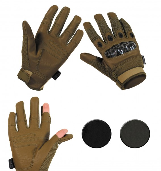 Tactical Handschuhe Mission Details