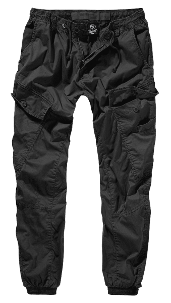 Brandit Ray Vintage Trousers schwarz vorn armyoutlet.de