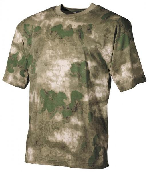 US T-Shirt halbarm HDT camo FG