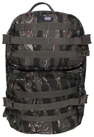 US Rucksack Assault II tiger stripe