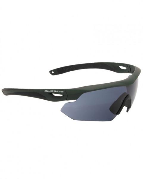 Tactical Brille Schutzbrille SWISS EYE® Nighthawk