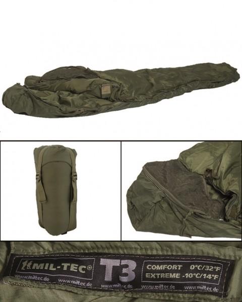 Schlafsack Tactical 3 oliv - armyoutlet.de