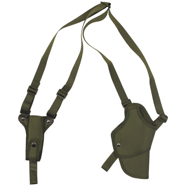 Pistolenschulterholster rechts - oliv - armyoutlet