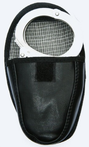 Security Handschellen mit Kette und Tasche