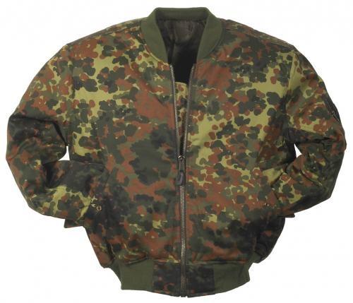 US MA1 Pilotenjacke Camouflage
