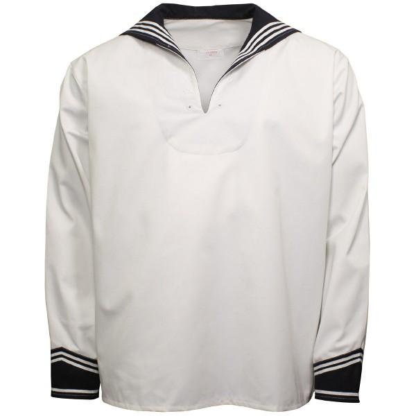 BW Marinehemd mit Kragen weiss
