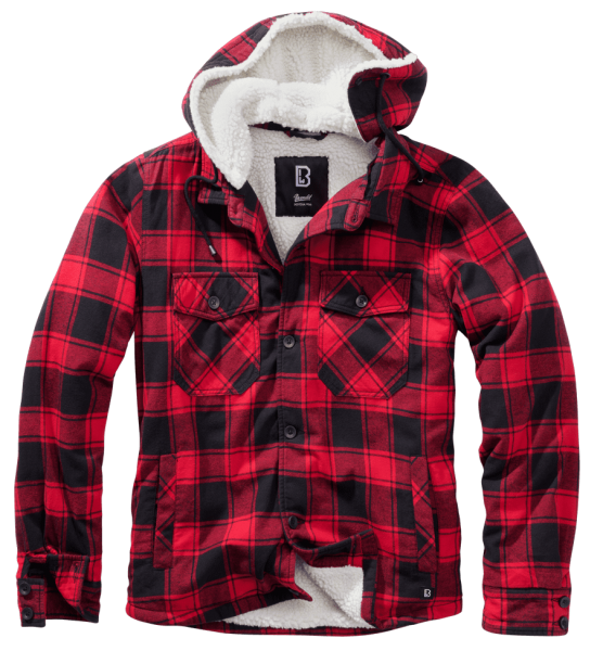 Brandit Lumberjacket hooded