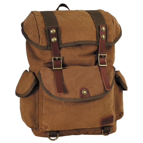 Pure Trash Rucksack Canvas braun