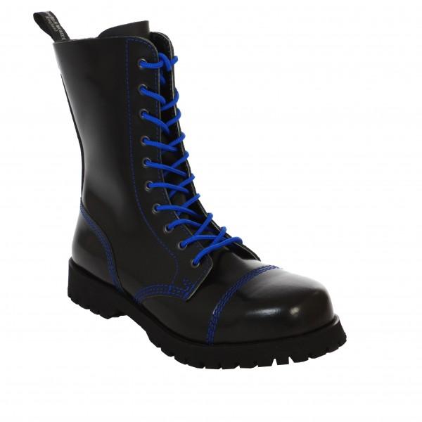 Boots & Braces 10 Loch Boots mit blauer Naht