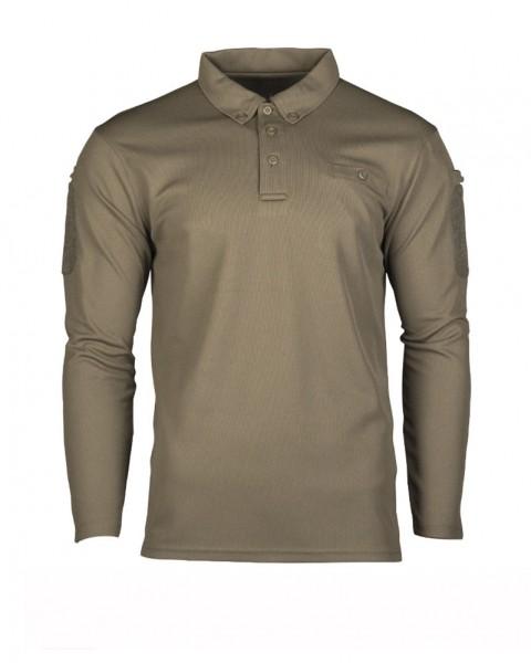 Tactical Quick Dry Poloshirt langarm