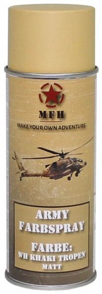 Army Farbspray WH khaki tropen matt 400ml