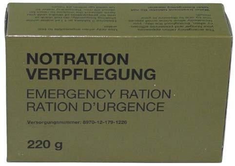 BW Notration Verpflegung 220g