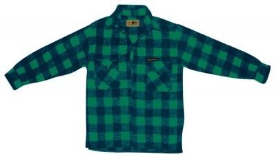 McAllister Holzfällerhemd Karohemd grün