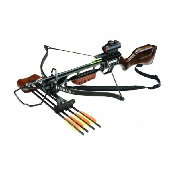 Recurve Armbrust JAGUAR 175 lbs braun