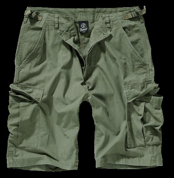Brandit BDU Ripstop Shorts oliv vorn armyoutlet.de
