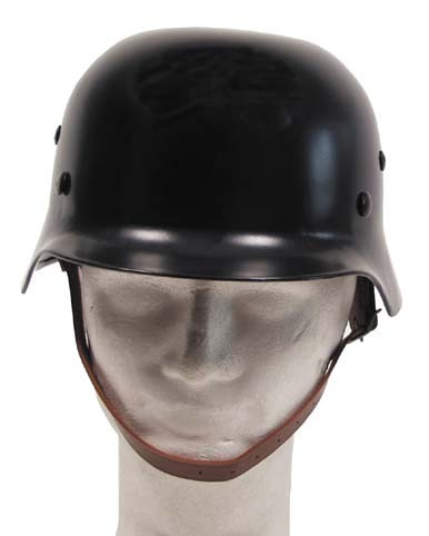 Stahlhelm WW II schwarz