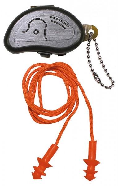 Gehörschutzstöpsel mit Transportbox