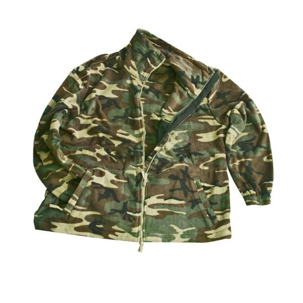 MMB Camouflage Fleecejacke woodland - armyoutlet.de