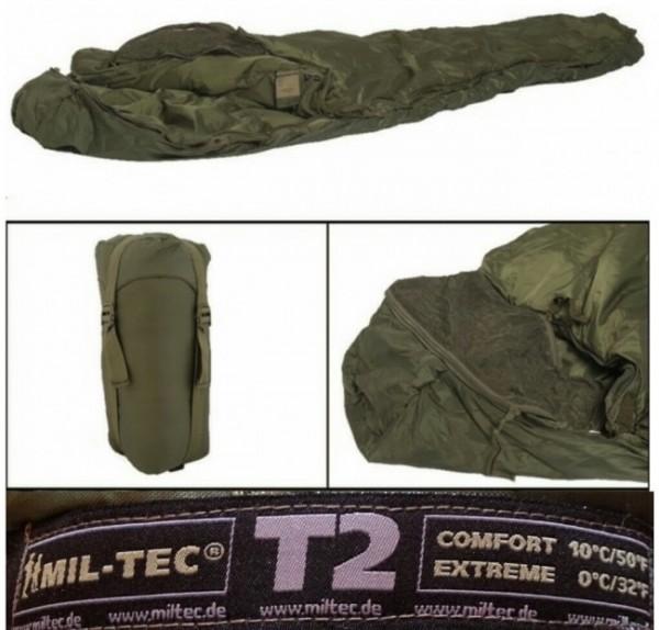Schlafsack Tactical 2 oliv - armyoutlet.de