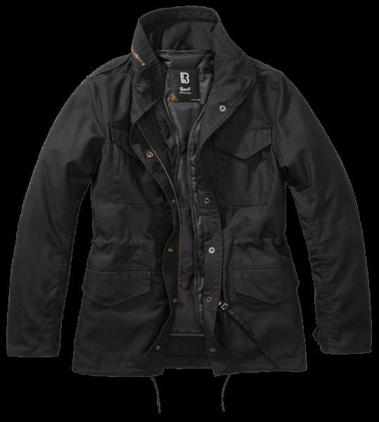 Brandit Ladies M65 Standard Jacket - schwarz - vorn - armyoutlet