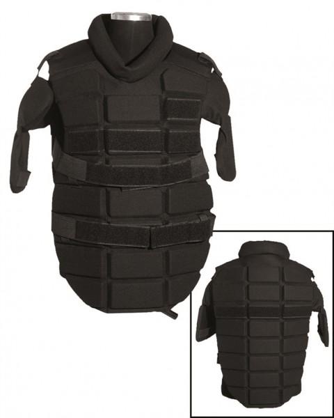 Anti Riot Brustschutz schwarz