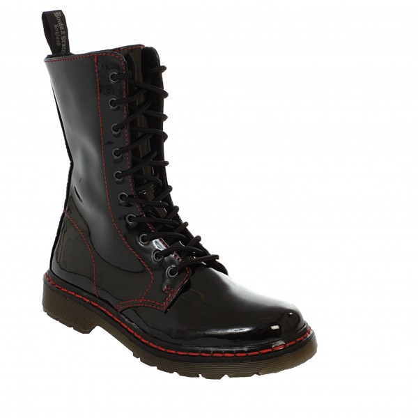 Boots & Braces 10 Loch Boots easy bloody patent