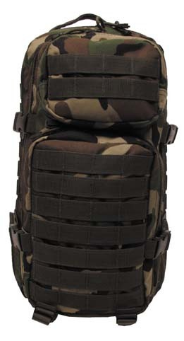 US Rucksack Assault I woodland