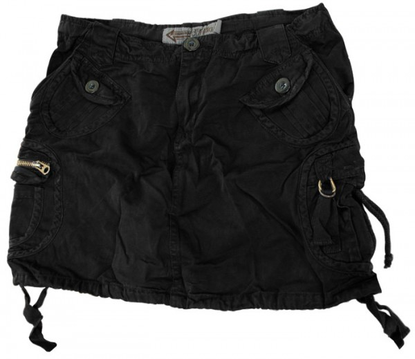 Ladies Army Skirt Blackout