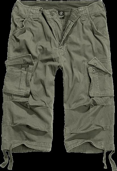 Brandit Urban Legend 3/4 Cargo Shorts oliv vorn - armyoutlet.de