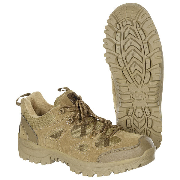 Halbschuhe Tactical Low coyote armyoutlet.de