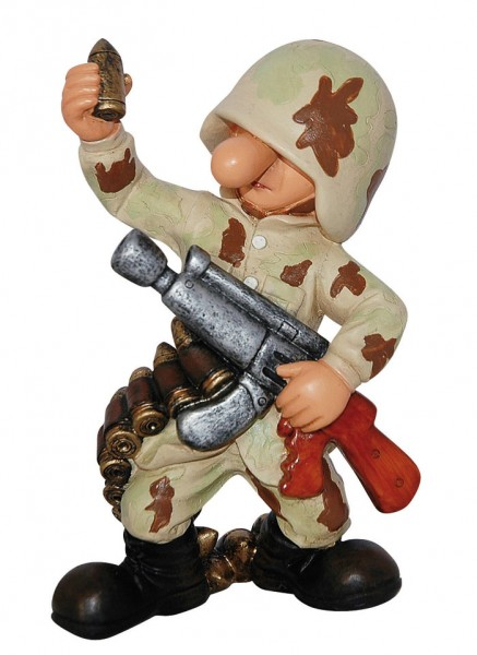 Fun Division Deko Figur Munition desert