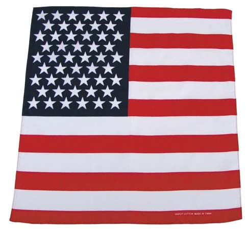 Bandana USA Fahne